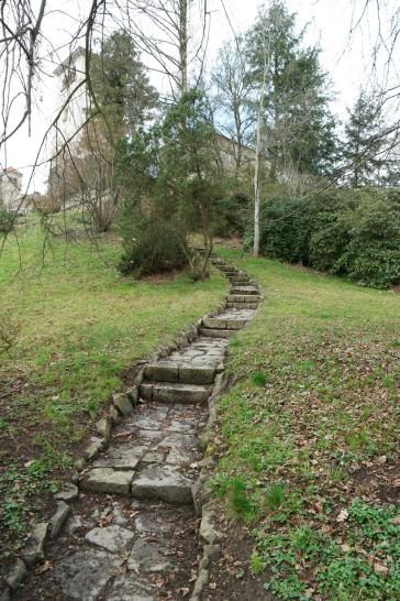 Aufgang zum Lustgarten